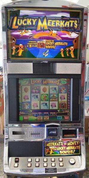 Lucky Meerkats slot machine
