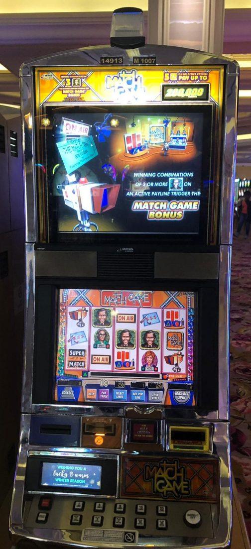 Match Game slot machine