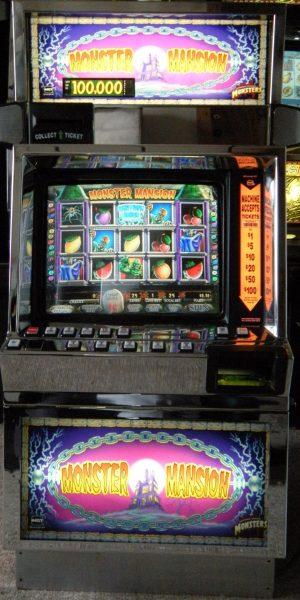Monster Mansion slot machine