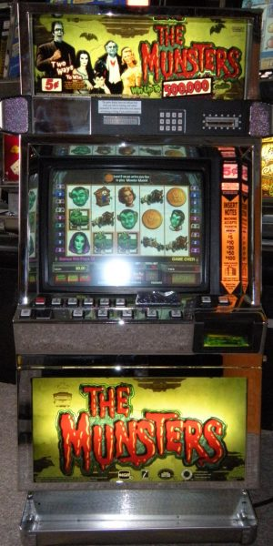 The Munsters slot machine