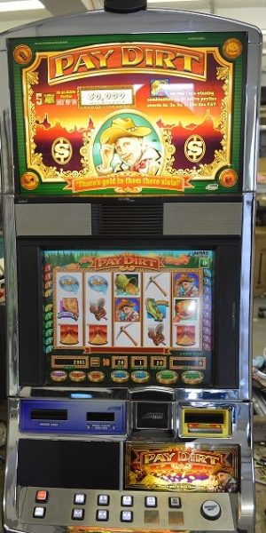 Pay Dirt slot machine