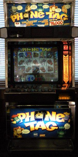 Phone Tag slot machine