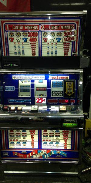 Red White and Blue Wild Star slot machine