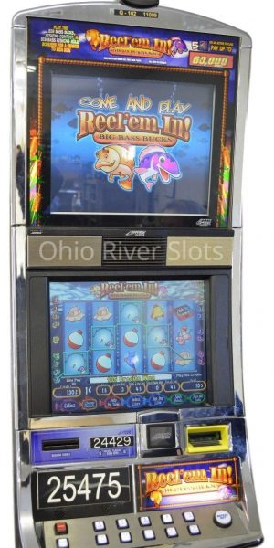 Reel Em In Big Bass Bucks slot machine