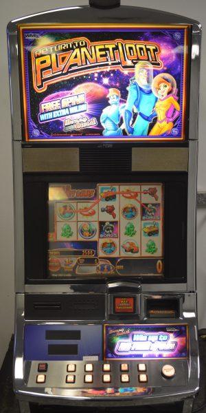 Return to Planet Loot slot machine