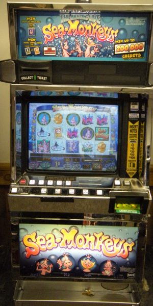 Sea Monkeys slot machine