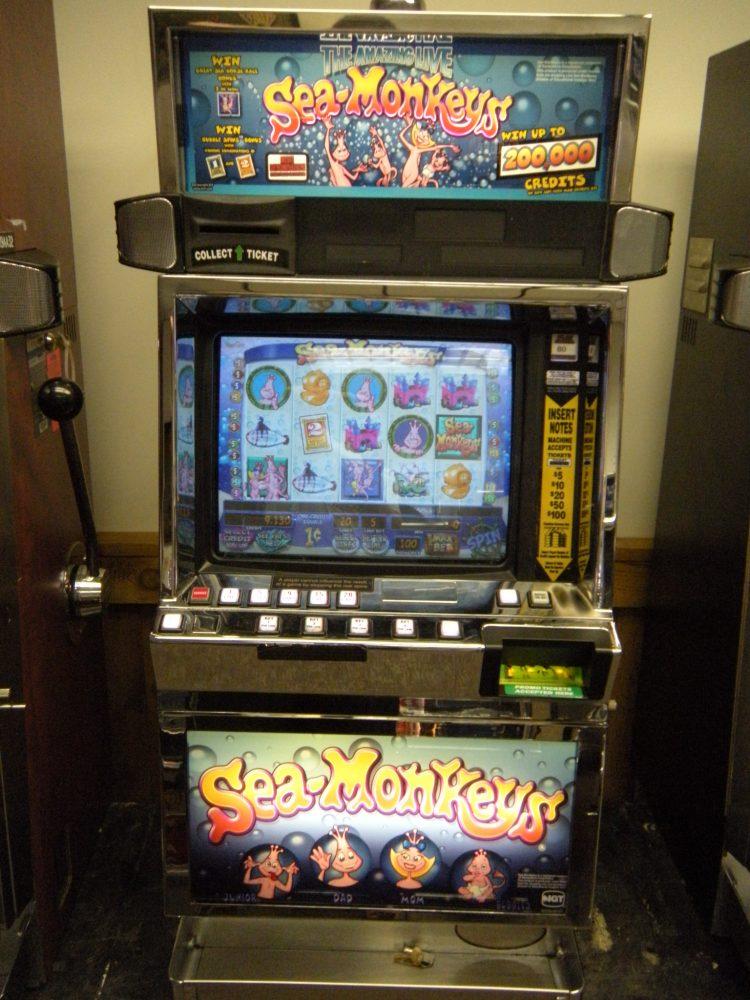 sea monkeys slot machine