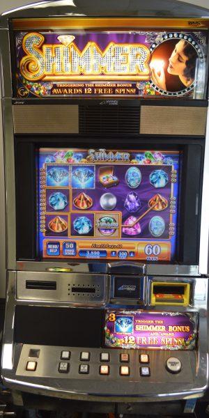 Shimmer slot machine