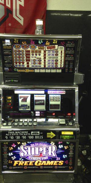 Super 2X3X4X5X Pay slot machine