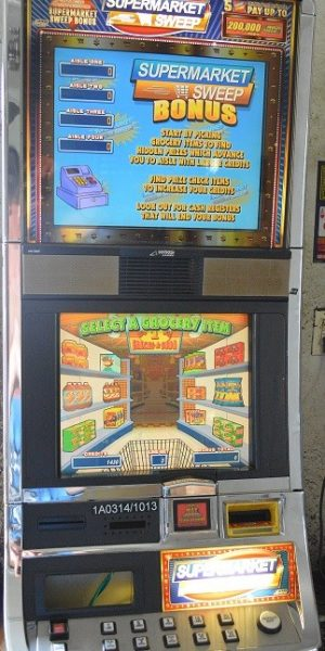 Supermarket Sweep slot machine