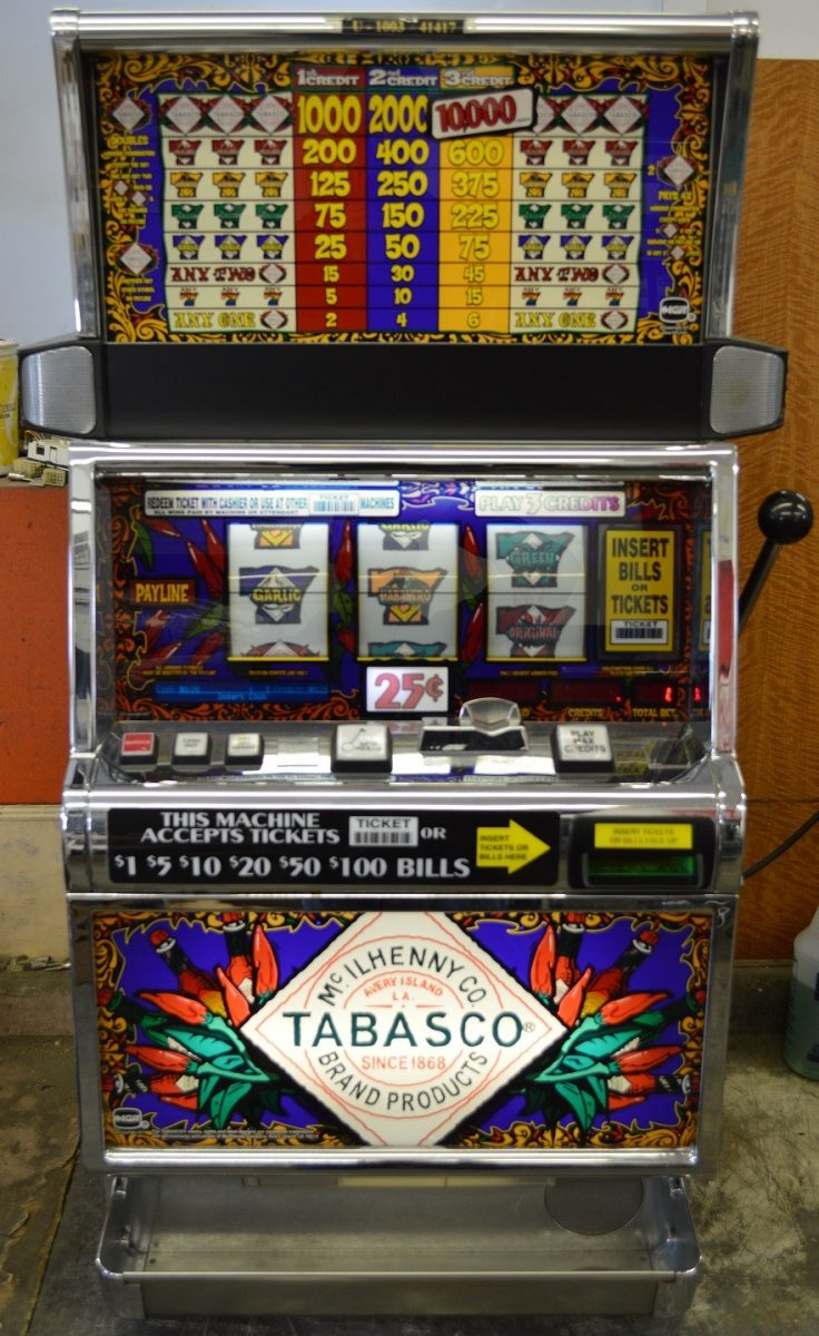 Tabasco slot machine freeware www banque casino free