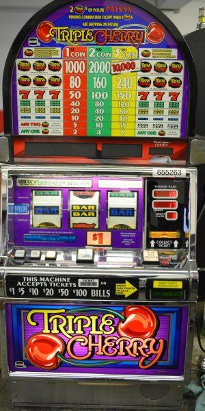 Triple Cherry slot machine