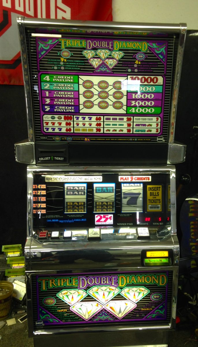 product triple slot machine diamond store