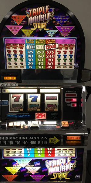 Triple Double Strike Slot Machine