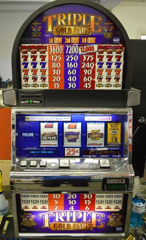 Gold Bar Slot Machine