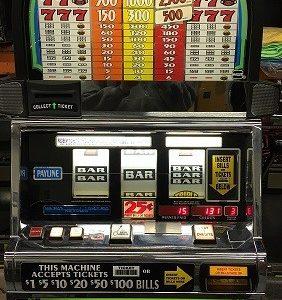IGT S2000 Triple Jackpot Slot Machine