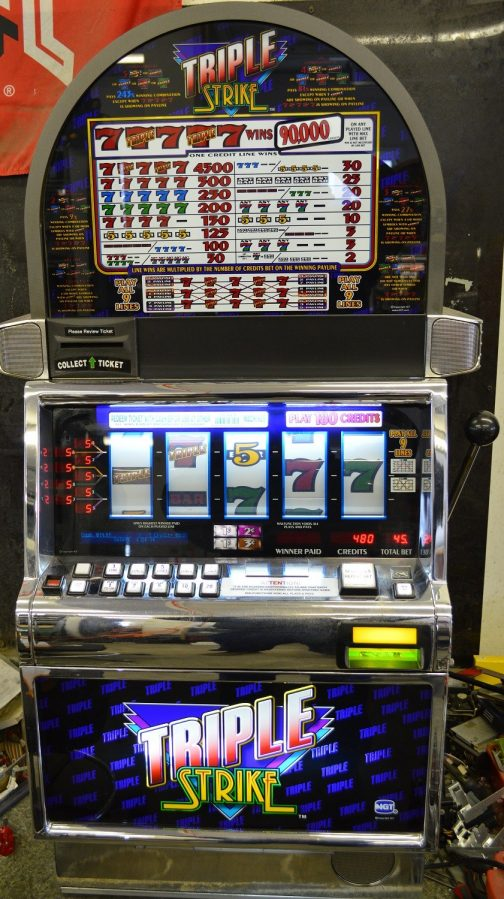 Triple Strike slot machine