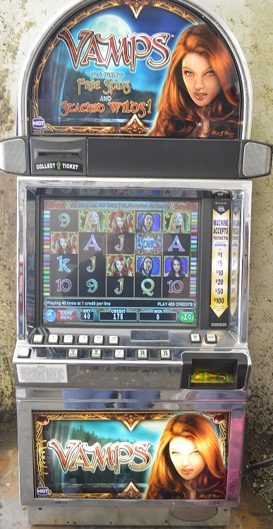 Vamps video slot machine