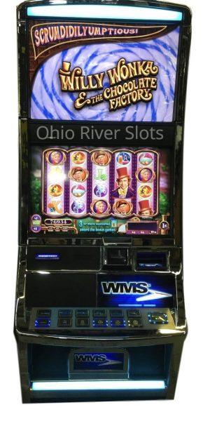 Willy Wonka and the Chocolate Factory slot machine