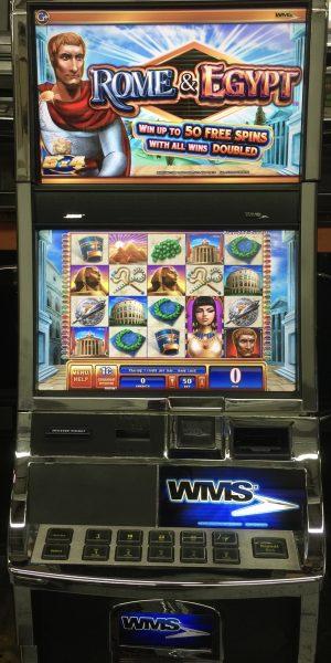 Rome & Egypt slot machine