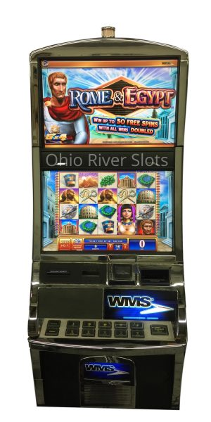 Rome and Egypt slot machine