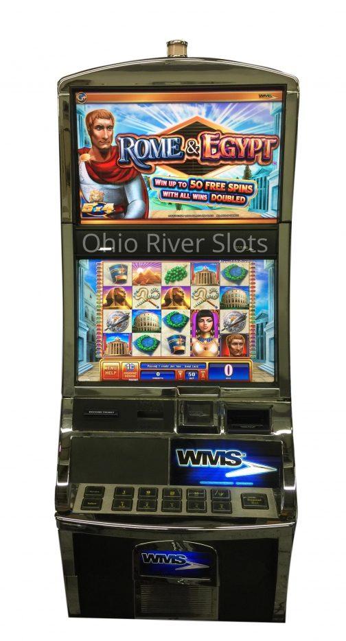 Rome and Egypt slot machine