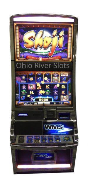 Shoji slot machine