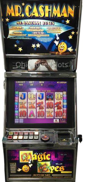 Mr. Cashman Magic Eyes slot machine