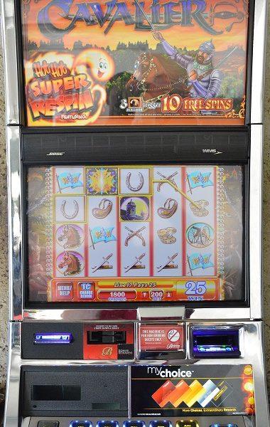 Cavalier Slot Machine