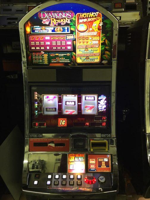 Diamonds in the Rough slot machine