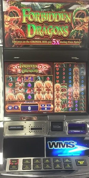 Forbidden Dragons slot machine