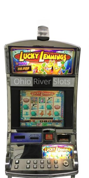 Lucky Lemmings slot machine