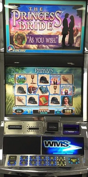 The Princess Bride slot machine