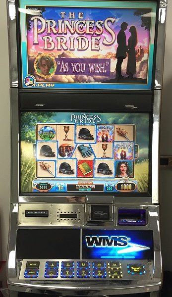 The Princess Bride slot machine