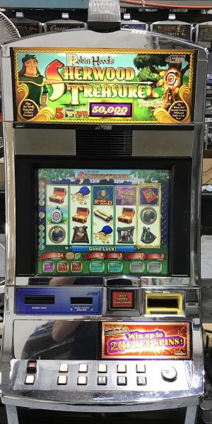 Robin Hood's Sherwood Treasure slot machine
