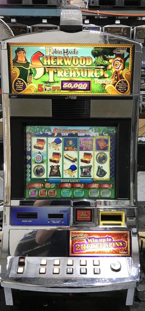 Robin Hood's Sherwood Treasure slot machine
