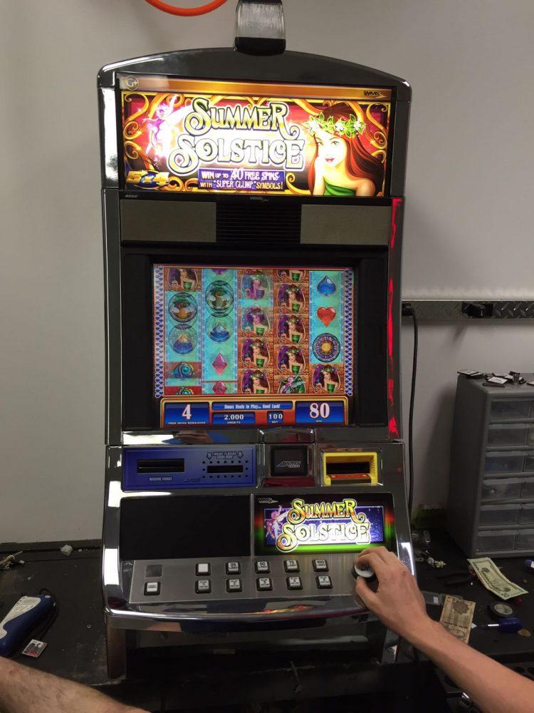 solstice slot machine