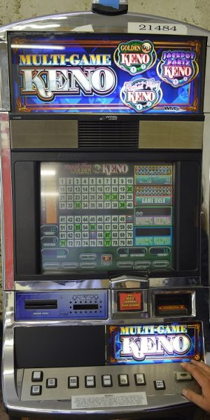 Multi-Game Keno slot machine