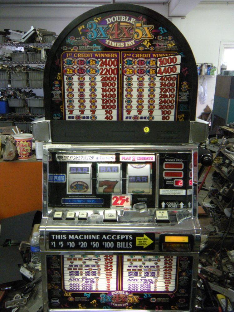 3X4X5X Pay Slot Machine