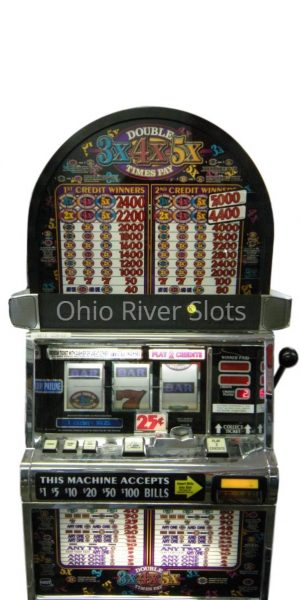 Double3X4X5X Pay slot machine