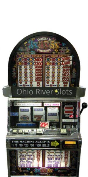 Double3X4X5X Pay slot machine