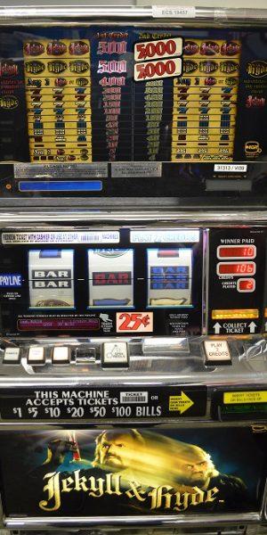 Jykell and Hyde slot machine