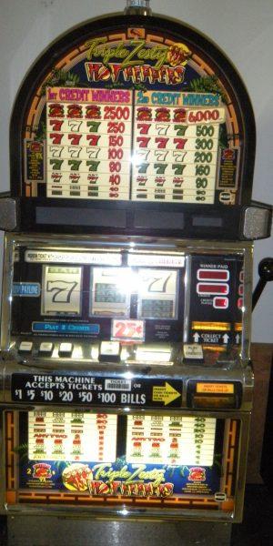 Triple Zesty Peppers slot machine