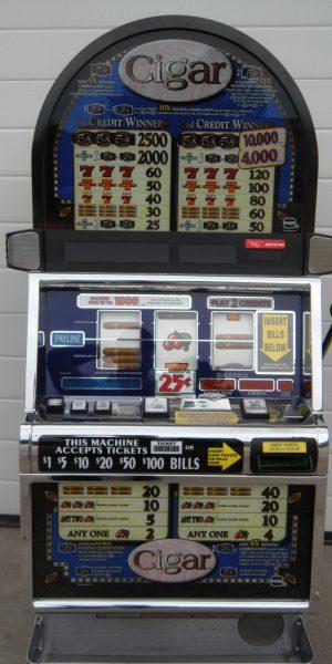 Cigar slot machine