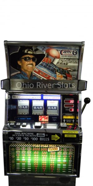 Richard Petty slot machine