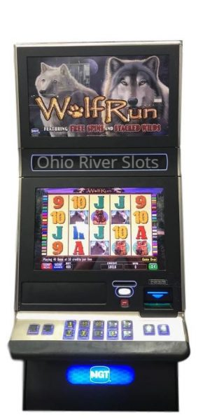 IGT G23 Wolf Run Slot machine