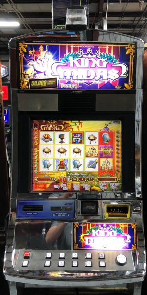King Midas slot machine