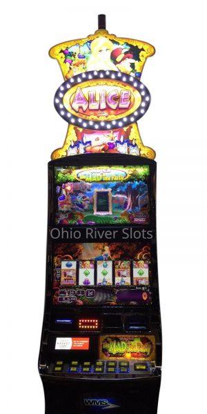 Alice In Wonderland slot machine