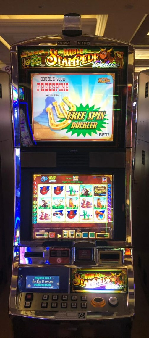 Double Stampede slot machine