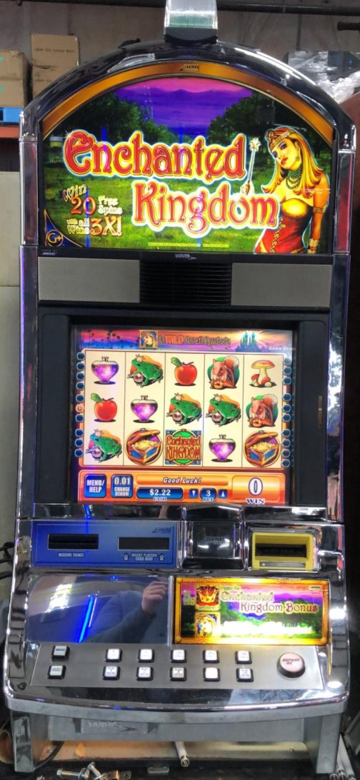 Enchanted Kingdom slot machine